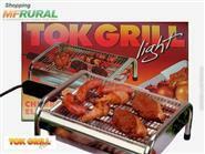 Churrasqueira Elétrica Econômica em Inox + Frete Grátis por apenas R$ 84,90.