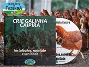 CD Crie Galinha Caipira, Instalações, Nutrição e Sanidade + Frete Grátis de R$ 80,00 por apenas R$ 65,00.