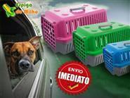 Leve seu Pet com você! Caixa de Transporte para Cães e Gatos, Tamanhos Médio ou Grande à partir de R$ 59,90! Frete Grátis.
