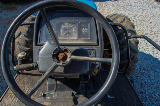 LOTE 12 - NEW HOLLAND TL 95 4X4 - ANO 2008