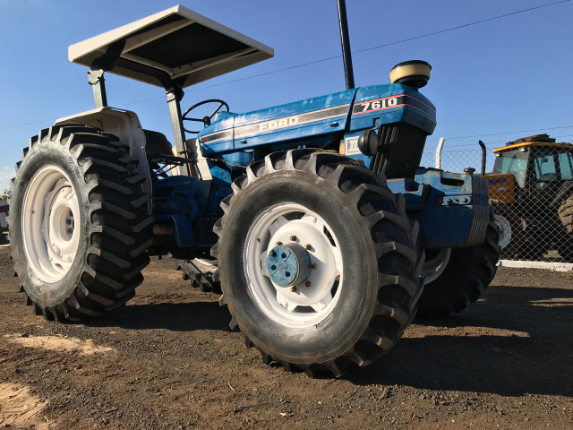 LOTE 24 - FORD 7610 4X4 1991