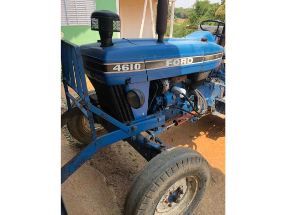 LOTE 065 - TRATOR FORD 4610 4 X 2 1991