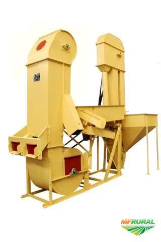 Máquina para limpeza e seleção de grãos completa - pré limpeza