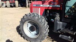 Trator Massey Ferguson 283 Advanced 4x4 ano 06