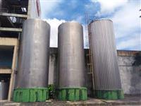 Lote de tanque em aço inoxidável (usado) 384m3