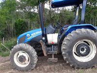 Trator New Holland TL 75 E 4x4 ano 18