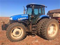 Trator New Holland TS 6120 4x4 ano 13