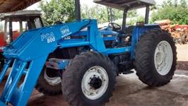 Trator New Holland 7630 4x4 ano 02