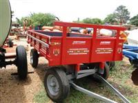 Carreta agrícola de 4 rodas