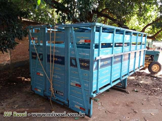 Carroceria gaiola boiadeiro