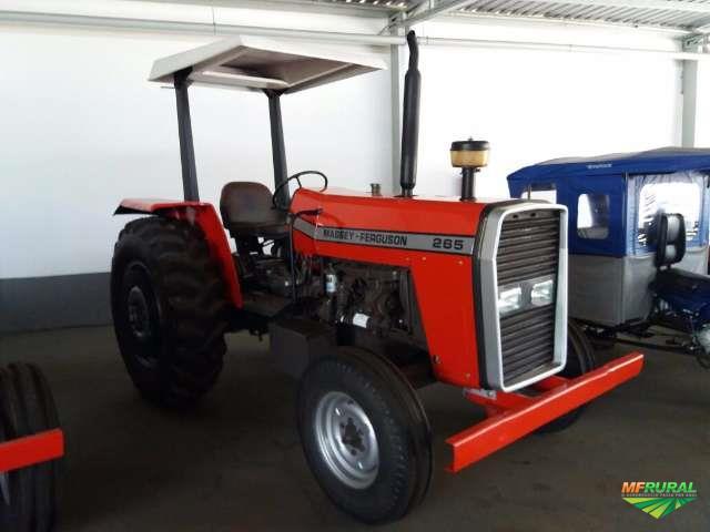 Trator Massey Ferguson 265 4x2 ano 93
