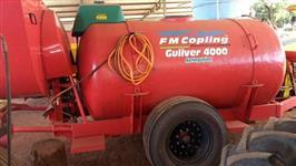 Atomizador FMC 4.000 litros Guliver seringueira
