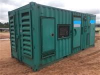 Grupo gerador de energia 1.250 Kva