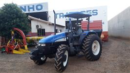 Trator New Holland TL 75 E 4x4 ano 10
