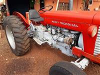 Trator Massey Ferguson 50 X 4x2 ano 19