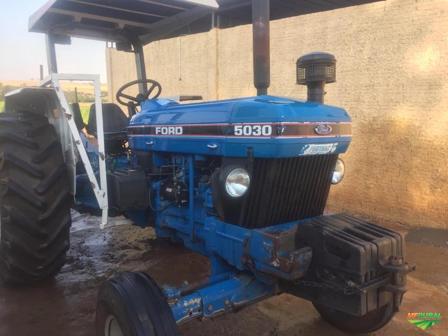Trator Ford 5030 4x2 Ano 94 Em Sertaozinho Sp A Venda Compre 340925