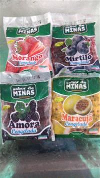 Frutas congeladas sachês 120gr
