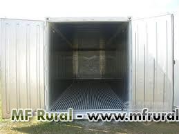 Container frigorífico refrigerado com capacidade de até 50 ton -  Container atinge até -30ºC