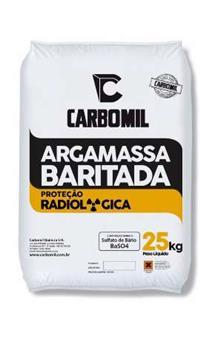 ARGAMASSA BARITADA CARBOMIL
