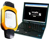 Interface de diagnostico Volvo Vcads mais Nootbook