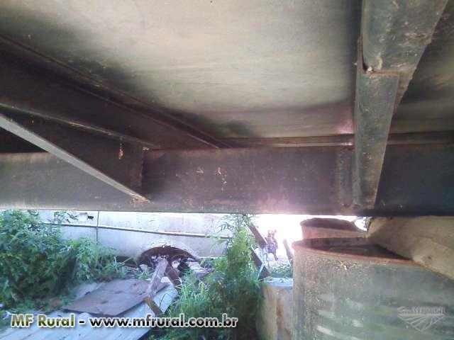 Baú De Alumínio 7,50 Metros 7.000,00
