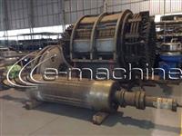 Gerador Fabricante AEG, capacidade de geração de 10.000 KVA / 8.000 KW