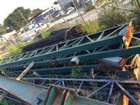 Treliça de 500 por 12 metros
