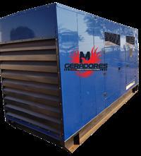 Grupo Gerador 500 / 456 kVA - 4 Tensões - Carenado Silenciado 2010 Stemac
