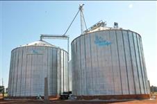 Venda, montagem, projetos de silos, secadores de grãos, elevadores e pré limpeza