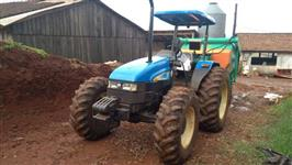 Trator New Holland TL 85 E 4x4 ano 11
