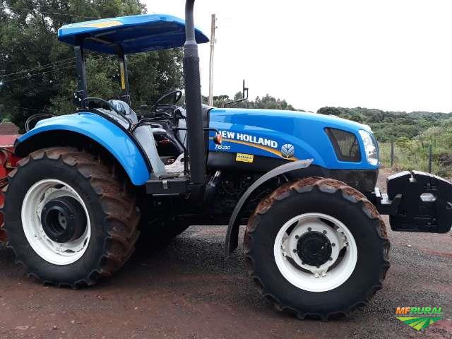Trator New Holland 4x4 ano 14