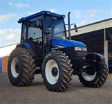Trator New Holland TS 100 4x4 ano 03