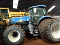 Trator New Holland T 7040 4x4 ano 09