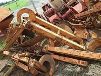 Peças subsolador plantadeira tatu Baldan civemasa D M B Jumil discos agrícolas canavieiro