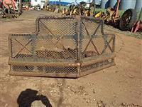 Para choque pesado florestal canavieiro trator agrícola