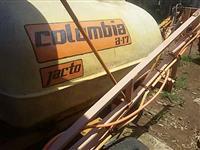 Pulverizador jacto Colúmbia barras