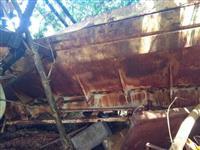 Carreta distribuição calcário adubo caminhão randon