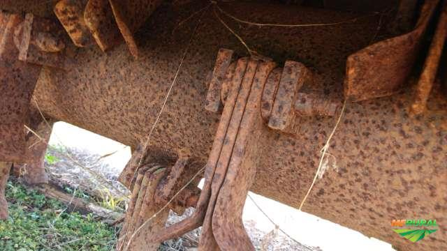 Roçadeira Triton rotativa dupla p/trator agrícola Massey jonh Deere
