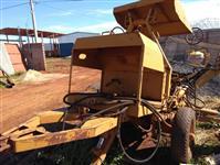 Retro escavadeira hidráulica arrasto p/ trator agrícola