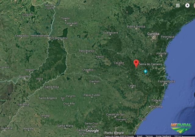 Terreno com Mata Nativa para Reserva/Compensação Ambiental  - 209 Hectares de Mata Atlântica