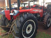 Trator Massey Ferguson MF 255 4x4 ano 09