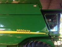 Colheitadeira JD sts 9650