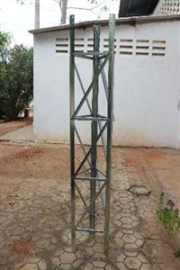 Torre Estaiada em Chapa Galvanizada de 2mm