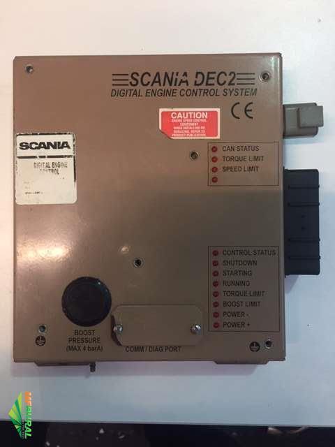 Modulo eletrônico  do motor scania da colheitadeira case 2006