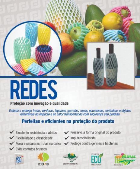 REDES PROTETORAS DE IMPACTO PARA FRUTAS