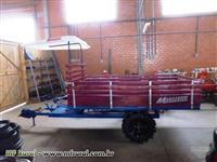 Carreta Micro Trator 4x4
