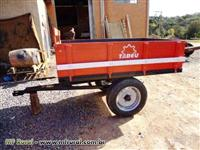 Carreta Basculante 1,5 Ton