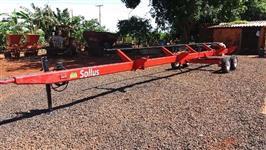 Carreta Puxar Plataforma Marca Sollus 17 a 25 pés NOVA!