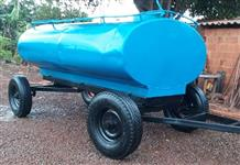 Carreta Tanque 3.000 litros Marca Fido, Reformado