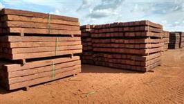 DORMENTES EUCALIPTO TRATADO NOVOS DIVERSOS TAMANHOS / DORMENTES DE MADEIRA USADOS COM 2,80 Mts/l